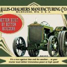 Alliss-Chalmers Tractor - Model 20-35 TIN SIGN