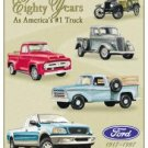 Ford Trucks - 80 year Tribute TIN SIGN
