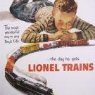 Model Railroad - Lionel Train Boy's Dream TIN SIGN