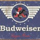 Budweiser Beer 1936 Logo TIN SIGN