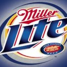 Miller Lite Beer BRUSHED METAL SIGN