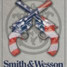 Smith & Wesson American Born & Bred since 1852 TIN SIGN