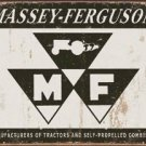 Massey Ferguson Tractors Logo TIN SIGN