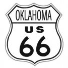 US Route 66 Oklahoma TIN SIGN