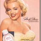 Norma Jean Baker aka Marilyn Monroe Jon-Joy Cosmetics TIN SIGN