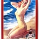 Pepsi Cola At the Beach TIN SIGN