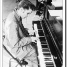 Elvis Presley playing piano - Wertheimer Collection 1956 TIN SIGN