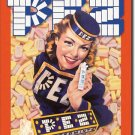 Pez Girl TIN SIGN