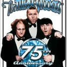 Three Stooges Moe, Larry, and Curly 75th Anniversary TIN SIGN