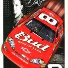 Budweiser Racing - Dale Earnhardt Jr. faux autograph TIN SIGN