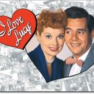Lucille Ball & Desi Arnaz - I Love Lucy TIN SIGN