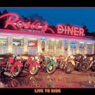 Rosie's Diner Live to Ride Motorcycles TIN SIGN