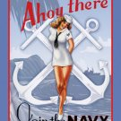 Garry Palm Ahoy there join the US Navy TIN SIGN