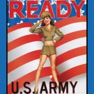 Garry Palm US Army Ready TIN SIGN