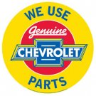 General Motors - We use Chevrolet Parts TIN SIGN