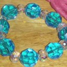 Beautiful Blue Crystal Bracelet