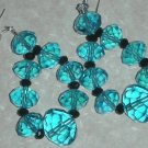 Gorgeous Blue Crystal Earrings