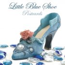 100 Little Blue Shoe Standard Postcards
