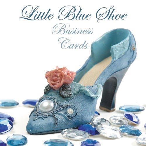 250 Little Blue Shoe Business Cards