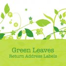 280 Green Leaves Return Address Labels
