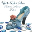 280 Little Blue Shoe Return Address Labels