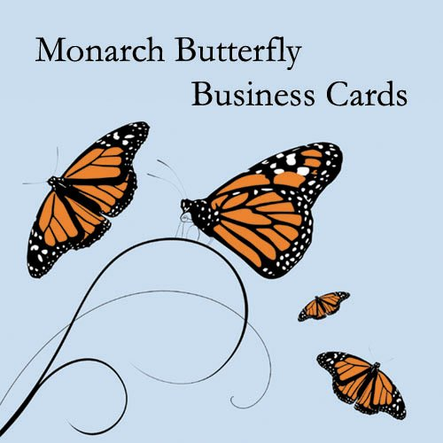 500 Monarch Butterfly Business Cards