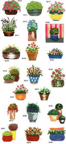 Flower Basket designs