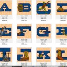 Western Alphabet Design Pack