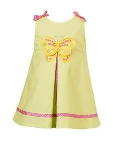 Rare Editions Butterfly Dress-Sz 18 months-NWT