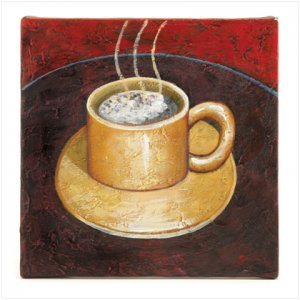 COFFEE OIL PAINTING