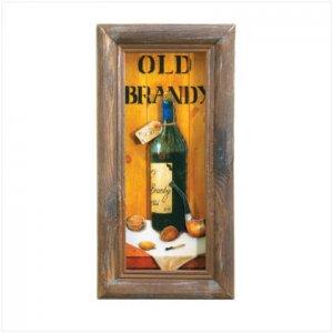OLD BRANDY 3D PAPER WALL ART