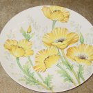 Noritake Buttercup Dinner Plate Yellow Flowers Decor