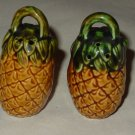 Vintage Handled Pineapple Shape Salt & Pepper Shakers