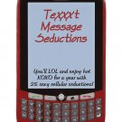 Surprise Parties Text Message Seduction- a year of sexy texts!