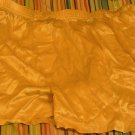 Gy2 Men's 100% silky creme colored boxers- size xl