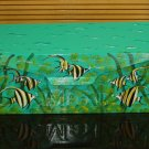 Hand Painted Wall Mount Mailbox Mailboxes With Angel Fish Design 15