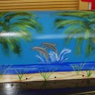 Hand Painted Mailbox Mailboxes With Dophin And Beach Scene 09