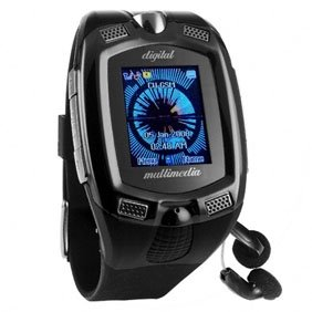 Cell Phone Watch M810 with 1.3 Mega pixel Camera, MP3 Player, Bluetooth