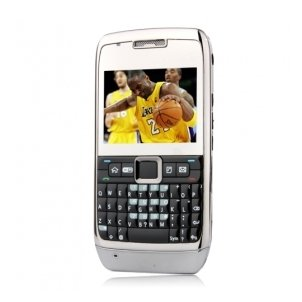 W71 Dual Card Dual Camera Quad Band WIFI TV QWERTY Keypad Touch Screen Cell Phone