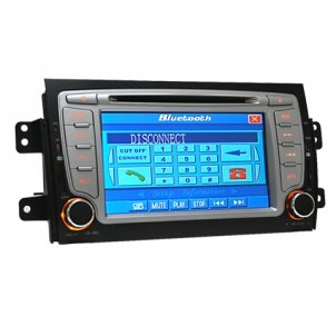 7.0 Inch 2 DIN Car DVD Player HL-8165 without GPS Special for SUZUKI SX4
