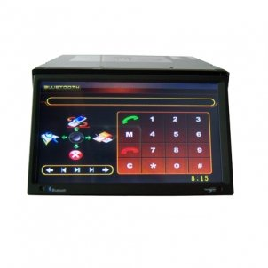 7.0 Inch 2 Din Car DVD Player HL-7235GB with GPS and DVB-T
