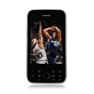 Ephone A900 Quad Band Dual Card Cell Phone with TV Function and FM Radio