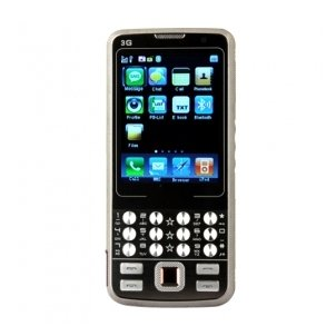 I8 Tri Band Dual Card Dual Standby Dual Camera Metal Cover Flat Touch Screen Bar Cell Phone