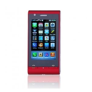 C5000 TV WIFI JAVA 3.2 Inch Flat Touch Screen Cell Phone