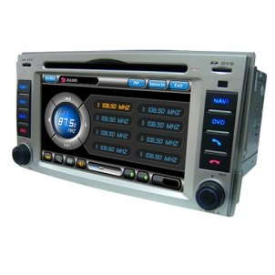 7.0 Inch 2 Din Car DVD Player HL-8708G with GPS Special for Hyundai 09 NEW SANTA FE