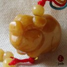 Chinese Little Pig jade pendant