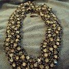 Crystal necklace (Ann Talyor style)