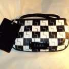 L.A.M.B NWT BLK and WHT checkboard wristlet