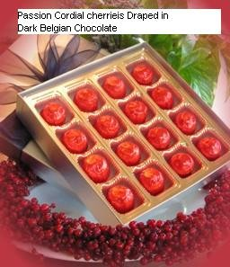Gourmet Belgian Chocolate Cordial Cherries