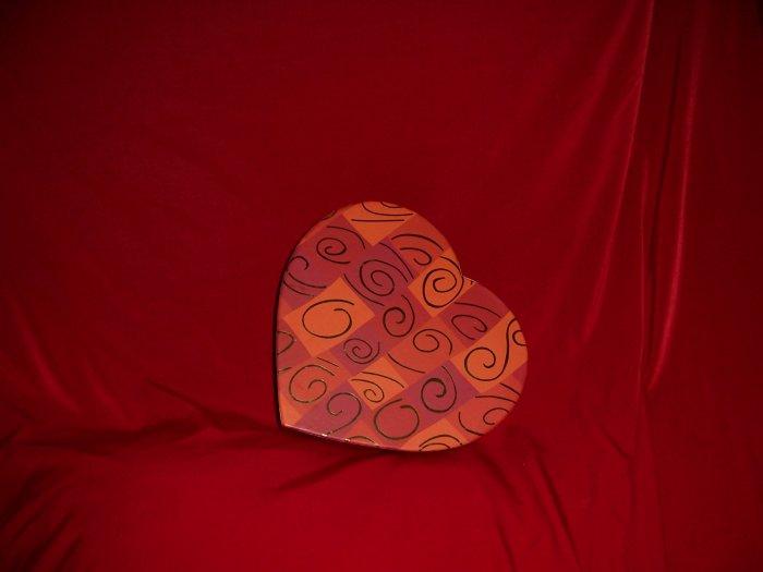 Valentine Chocolate 11 piece Cosmo Valentine Heart